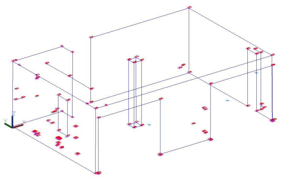 Helyiség felmérése Leica 3D Disto-val